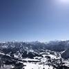 快晴の岩原スキー場