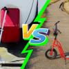 キックボード vs. バギークロス