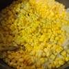 トウモロコシの炊き込みご飯、副菜もカラフルに。