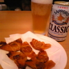 ビール&揚げ物!