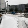 雪の影響はまだまだ。
