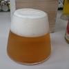「富士山ビールグラス」とビール紹介(オリオンビール)
