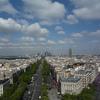 欧州へ。§3パリ編 Part49 凱旋門の上から