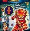 2017年12月26日新発売! 洋書「Faster Than Lightning! (Lego DC Super Heroes) 」ミニフィギュア付き
