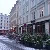 雪のふる朝