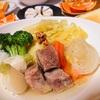 ブライン液に漬けた豚肉で作ったスープは絶品だった【potée】