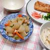 夕食:大根の煮物