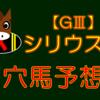 【GⅢ】シリウスS 結果 回顧