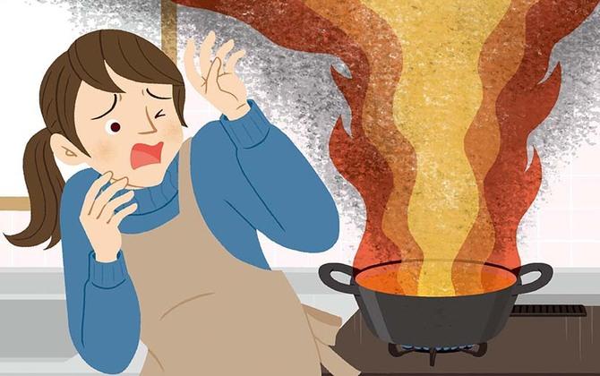 自宅でコンロ火災が発生…。あなたが取るべき行動は? ー防災行動ガイド