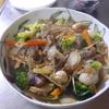 幸運な病のレシピ( 1803 )朝:ブロッコリーと牛肉の炒め、鮭、味噌汁、父の禁煙日記