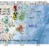 2017年09月24日 11時40分 茨城県沖でM3.3の地震