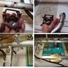 UHF改造20エレ八木の設置