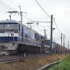 東武70090系甲種輸送を撮る。