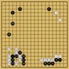 Master対AlphaGoZeroの棋譜5