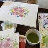 水彩画ワークショップを行いました!