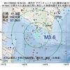 2017年09月02日 19時54分 浦河沖でM3.6の地震