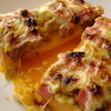 納豆チーズベーコントースト