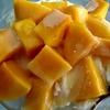 阿伯磚頭冰でマンゴーかき氷