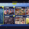 【PC/XboxONE】 FORTNITE 攻略 メニュー戦略設定画面タブの簡易説明(ARMORY/SKILLS/LOOT/STORE/QUESTS)