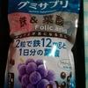 【コストコ】UHAグミサプリ鉄&葉酸105日分/210粒(1980円税込)