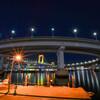 ループ橋/レインボーブリッジライトアップ