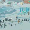 ペンギンの島を眺める仕事