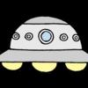6月24日は「UFOの日」。UFOのイラストを描きました