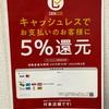 レンタカー  キャッシュレスの支払いで5%還元!!