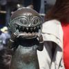 妖怪に暗証番号を聞かれても決して教えないでください。鳥取県・境港市水木しげるロード