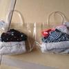 《保育園プール準備》ダイソーで購入したビニールバッグ、その後。