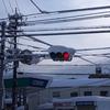 道路状況は赤信号