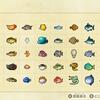 【あつまれ どうぶつの森】水族館で撮った写真だけでリアル魚図鑑を作ってみる