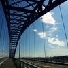 千歳橋で高所恐怖症の克服へ