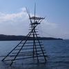 No:045【石川県】怪鳥ロックの巣!?湾に浮かぶ「ボラ待ち櫓」は日本最古の漁法の痕跡だ!