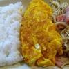 えのきベーコンとオムレツ ワンプレート朝定食