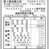 HubSpot Japan株式会社 第3期決算公告