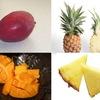 トロピカルフルーツの栄養 マンゴー,パイナップル,グアバ,バナナ,パパイア,ドラゴンフルーツの栄養を比べてみました.暑い夏には水分補給源として優れた食べ物.カリウム,カルシウム,マグネシウムは,それなりの量含まれます.エネルギーは多い順にバナナ,マンゴー,パイナップル.甘さとほぼ比例.カロテン・レチノールは,マンゴー,グアバ(赤肉種),パパイア.グアバ,パパイア,パイナップルのビタミンCは温州ミカン以上.マンゴーもそれなりの数字.グアバは,ビタミンCとともに,食物繊維含有量がこの中でトップ.