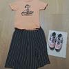 【妻コーデ】お気に入りのSNOOPYのTシャツ