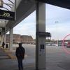 ファッションアウトレットシカゴ行き・Rosemont駅のシャトルバス乗り場
