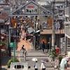 ここは、東京都台東区谷中銀座。約2分30秒後に谷中の猫さんが登場します!