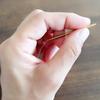 Opalを使って靴下を編む 近畿輪針1号22cmを使用して。