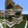 【Minecraft】庭のあるマンションを作る② 完成【コンパクトな街をつくるよ17】
