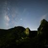 【天体撮影記 第109夜】 佐賀県 乳待坊公園展望台より雄岩と雌岩に寄り添う天の川を
