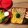 【レシピ】お野菜たっぷりそぼろ弁当&キュキュット泡スプレー