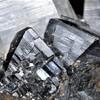 錫石と水晶