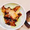 『調理実習→サムギョプサル丼のデモ~♡』