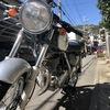 【バイク】逆付けしたST250純正ハンドルにバーエンドミラーを取り付ける!
