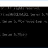 Windows10 MySQL(MySQL Serverのbin)のパスを環境変数に追加していないときのmysqldumpとかでアクセスが拒否されました。