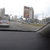 ウクライナ旅行[66](2019年5月) キエフ市内からボリスピル国際空港へ向かう(UBER車内から見た市内の様子)