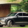 マツダブランドスペース大阪で「MX-30・用品架装仕様車」の展示を開始。